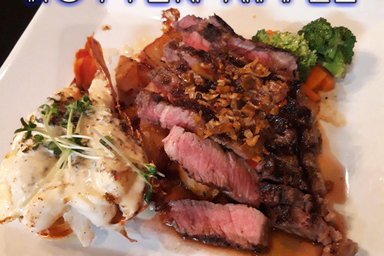 本当は教えたくないくらいおいしいレストラン♡ステーキの名店「ROTTEN APPLE」
