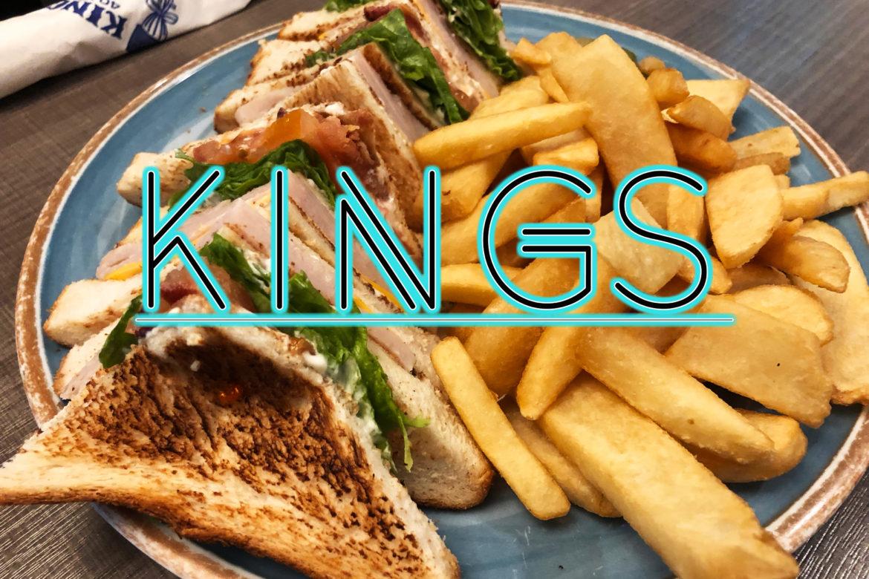 24時間営業で遅めのディナー!小腹が空いたら「KINGS」で^^