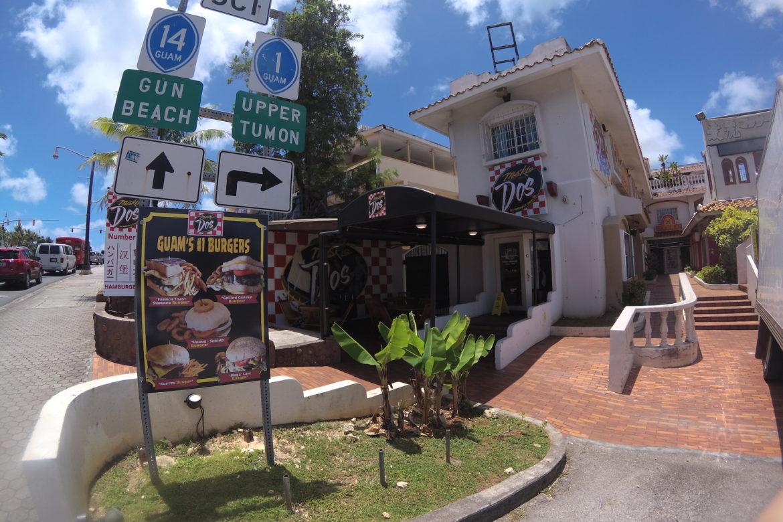 グアムでボリューム満点のハンバーガー!!「Meskla Dos メスクラドス」