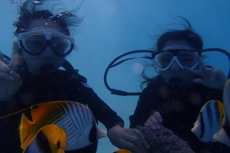 グアムで体験ダイビング「speedy turtle スピーディータートル」