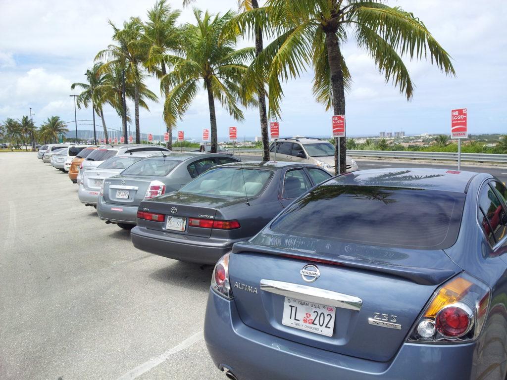 グアム空港 空港24時間 日産レンタカー