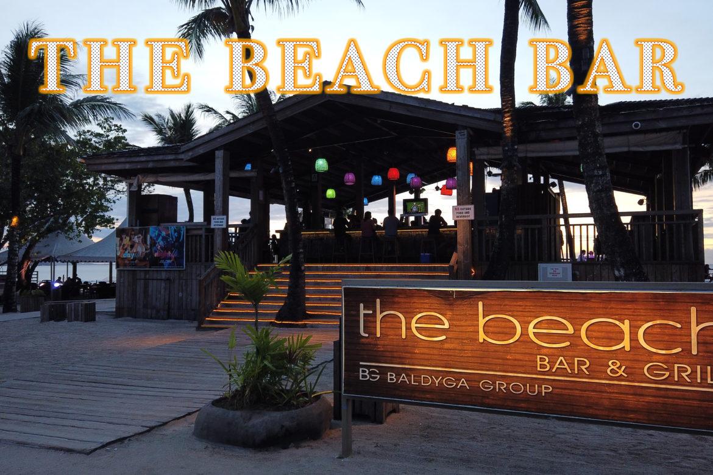グアムに来たならやっぱりビーチで!「The Beach Bar」で夕日とお酒と幸せと。