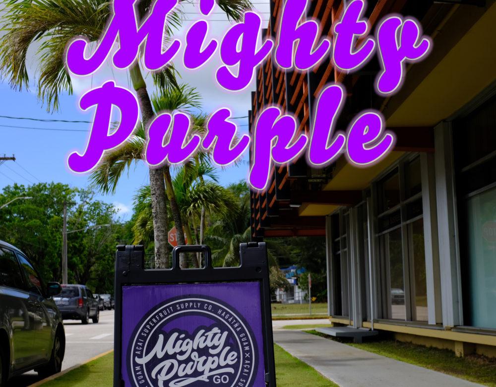 アサイーボウル好き集まれ〜!何から何までマープル「Mighty Purple」